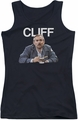 Cheers juniors tank top Cliff black