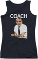 Cheers juniors tank top Coach black