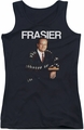 Cheers juniors tank top Frasier black