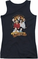 Cheers juniors tank top Group Shot black