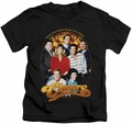 Cheers kids t-shirt Group Shot black