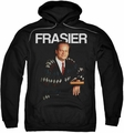 Cheers pull-over hoodie Frasier adult black