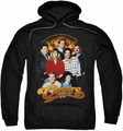 Cheers pull-over hoodie Group Shot adult black