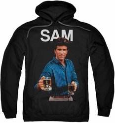 Cheers pull-over hoodie Sam adult black