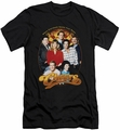 Cheers slim-fit t-shirt Group Shot mens black