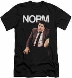 Cheers slim-fit t-shirt Norm mens black