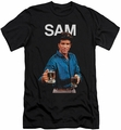 Cheers slim-fit t-shirt Sam mens black