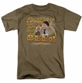 Cheers t-shirt Fear mens safari green