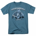 Cheers t-shirt Fountain Of Knowledge mens slate