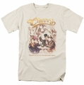 Cheers t-shirt Here Here mens cream