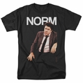 Cheers t-shirt Norm mens black