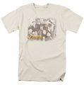Cheers t-shirt Opening Distressed mens cream