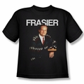 Cheers youth teen t-shirt Frasier black