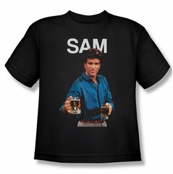 Cheers youth teen t-shirt Sam black