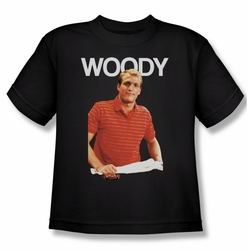 Cheers youth teen t-shirt Woody black