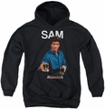 Cheers youth teen hoodie Sam black