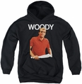 Cheers youth teen hoodie Woody black