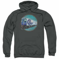 Chicago pull-over hoodie The Rail adult charcoal