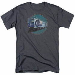 Chicago t-shirt The Rail mens charcoal