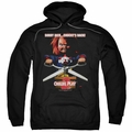 Child's Play 2 pull-over hoodie Chuckys Back adult black