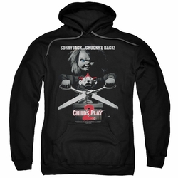 Child's Play 2 pull-over hoodie Jack Poster adult black