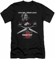 Child'S Play 2 slim-fit t-shirt Jack Poster mens black