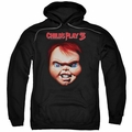 Child's Play 3 pull-over hoodie Chucky adult black
