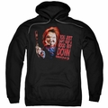 Child's Play 3 pull-over hoodie Good Guy adult black