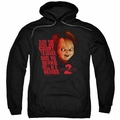 Child's Play 3 pull-over hoodie In Heaven adult black