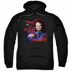 Child's Play 3 pull-over hoodie Time To Play adult black