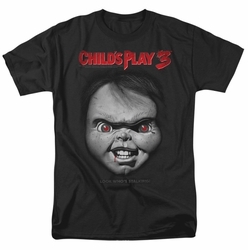 Child's Play 3 t-shirt Face Poster mens black