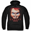 Child's Play pull-over hoodie Chucky Squared adult black
