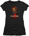 Childs Play 2 juniors t-shirt Heres Chucky black