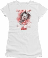 Childs Play 2 juniors t-shirt Playtimes Over white
