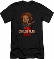 Childs Play 2 slim-fit t-shirt Heres Chucky mens black