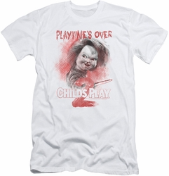 Childs Play 2 slim-fit t-shirt Playtimes Over mens white