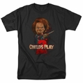 Childs Play 2 t-shirt Heres Chucky mens black