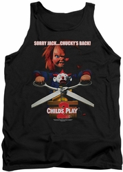 Childs Play 2 tank top Chuckys Back mens black