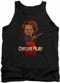 Childs Play 2 tank top Heres Chucky mens black