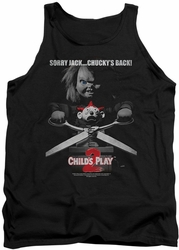 Childs Play 2 tank top Jack Poster mens black