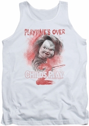 Childs Play 2 tank top Playtimes Over mens white