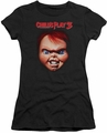 Childs Play 3 juniors t-shirt Chucky black