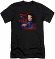 Childs Play 3 slim-fit t-shirt Time To Play mens black