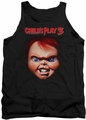 Childs Play 3 tank top Chucky mens black