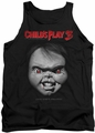 Childs Play 3 tank top Face Poster mens black