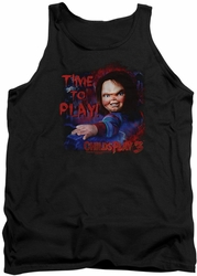 Childs Play 3 tank top Time To Play mens black