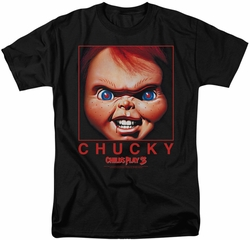 Childs Play t-shirt Chucky Squared mens black