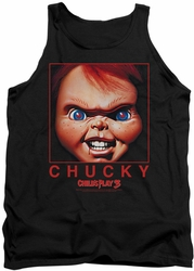 Childs Play tank top Chucky Squared mens black