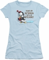 Chilly Willy juniors t-shirt Hands Off light blue