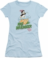 Chilly Willy juniors t-shirt Ice Breaker light blue